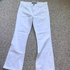 White Calvin Klein denim